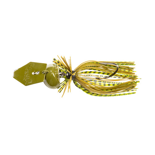 Isca Artificial Chatterbait® Freedom CFL Cor Green Pumpkin