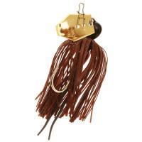Isca Artificial Chatterbait® Mini Cor Brown/Black