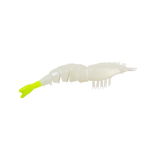 Camarão Artificial Articulado Z-Man EZ Shrimpz Cor Glow Chartreuse Tail